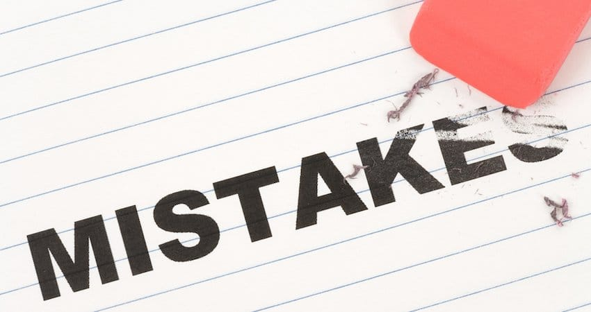 Common Mistakes Made with Mechanic's Liens
