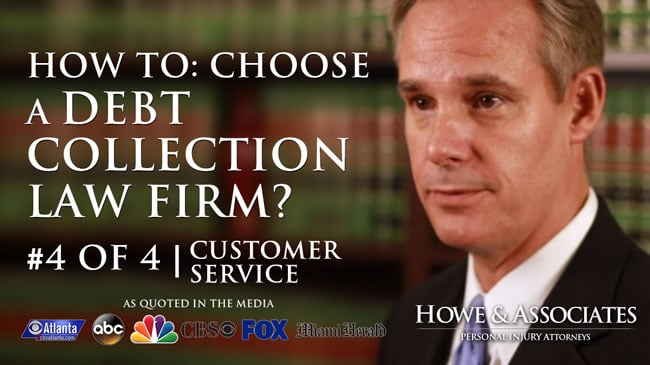 The Importance of Great Customer Service in Hiring a Debt Collection Attorney